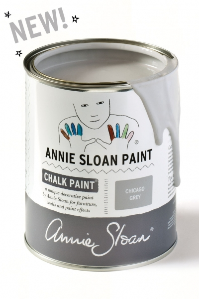 Annie Sloan Chalk paint Chicago grey 896 new