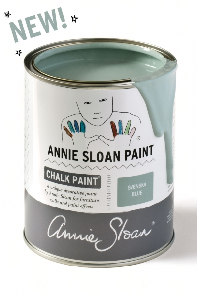 Annie Sloan Chalk paint Svenska blue 896 new