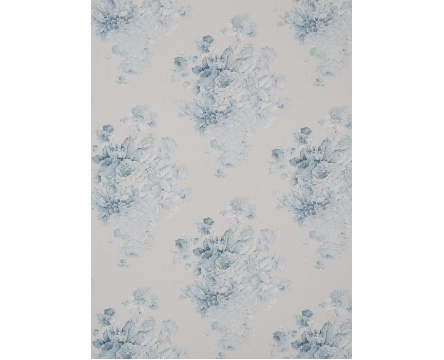anniesloan fabric faded roses blue 896