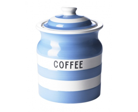 Coffee storage jar